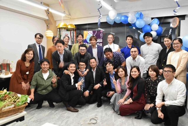 【イベント】新オフィスのオープンニングパーティー