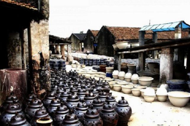 【レジャー・旅行】ハノイ近郊の村 ベトナムの焼き物の産地バッチャン BAT TRANG